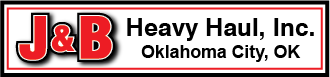 J&B Heavy Haul Logo